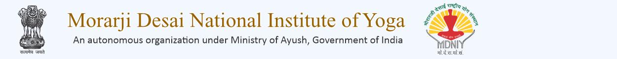 Morarji Desai Institute of Yoga